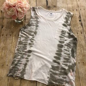 NSF Meadow Tie Dye Tank Top- Small